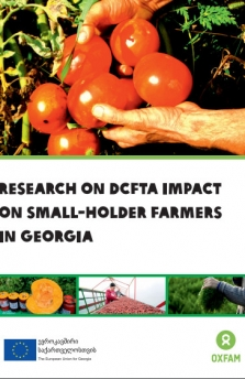 RESEARCH ON DCFTA IMPACT ON SMALL-HOLDER FARMERS IN GEORGIA